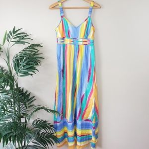 Tommy Hilfiger | Painted Stripe Maxi Dress
